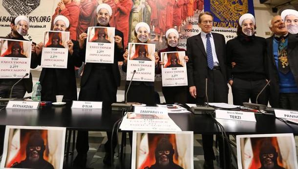 Ong, in Iran con Rohani più impiccagioni