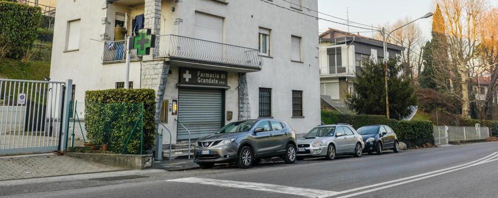 Grandate, farmacia sulla statale  I clienti con scontrino   potranno parcheggiare