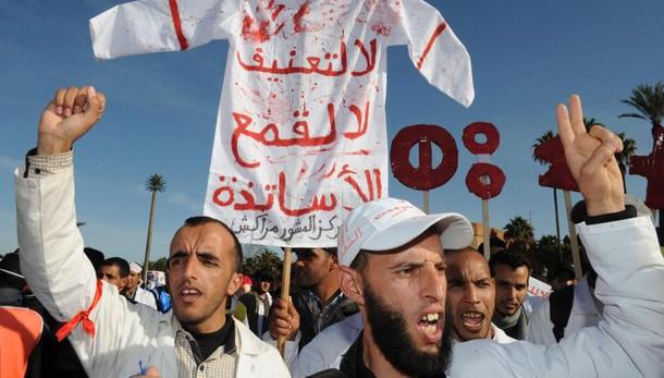 Marocco: marcia contro tagli alla scuola