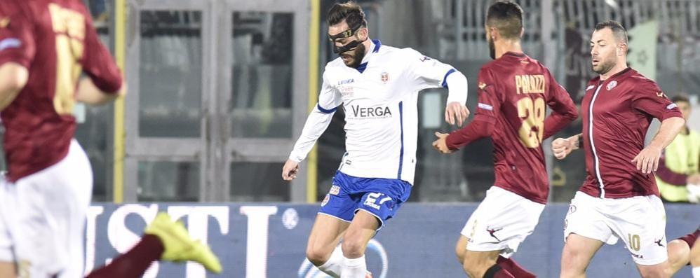 Cassetti, una contrattura Per il Vicenza è in dubbio