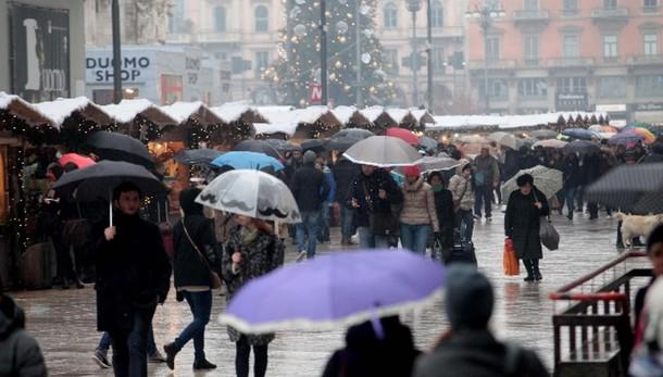 Smog,pioggia pulisce Roma Milano Napoli