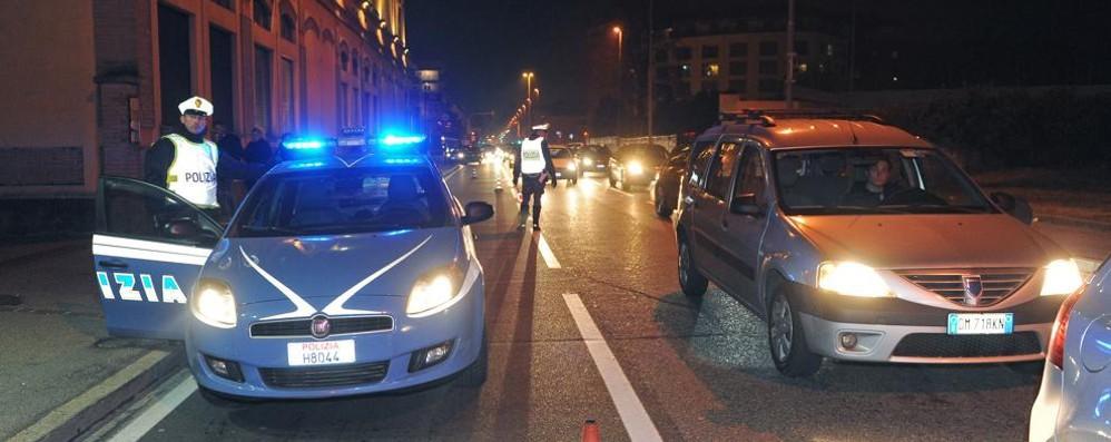 Como, controlli contro i furti    Traffico bloccato per due ore