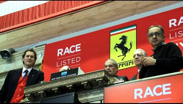 Marchionne, nuova partenza Ferrari
