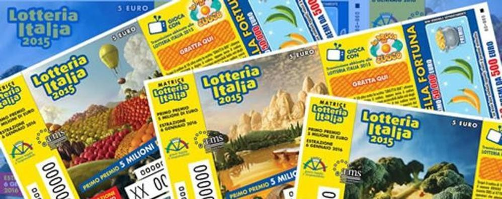 Lotteria Italia  Mezzo milione a Como