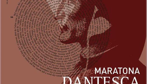 Maratona Dantesca,lettura anche di notte