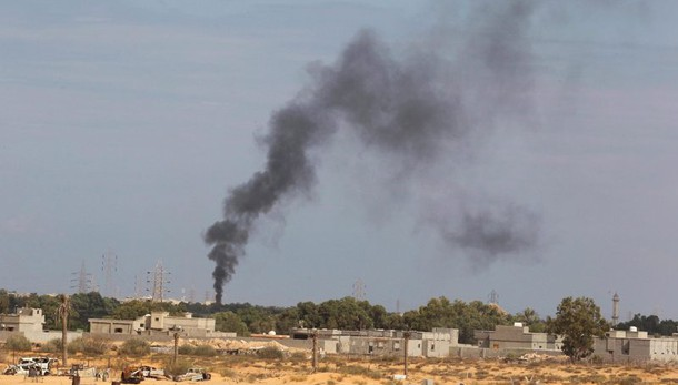 Libia:colpita centrale elettrica Bengasi