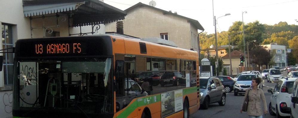 Bus navetta per Cantù Asnago  Resta gratuito per un altro anno