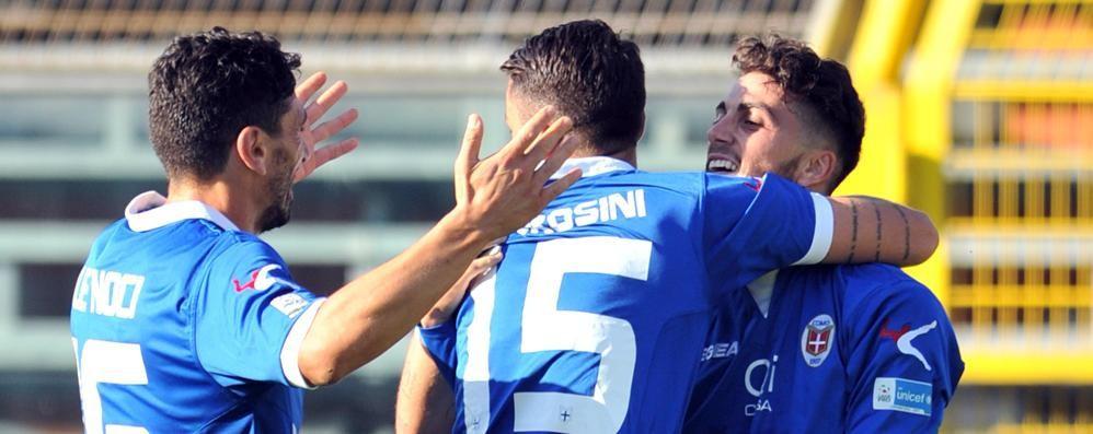 Como: torna Briganti, Fietta out