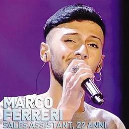 """X Factor, Marco va alla grande  Il marianese Ferreri  passa anche la fase """"Bootcamp"""""""