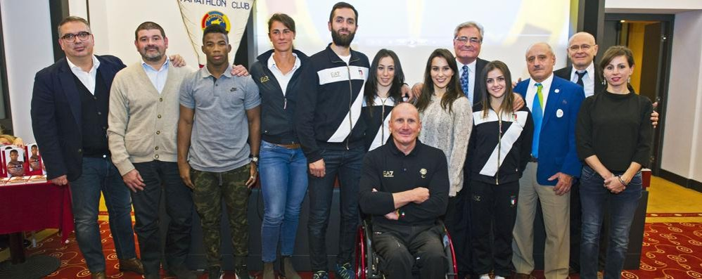 «Como incontra le Olimpiadi»  Il Panathlon festeggia gli atleti