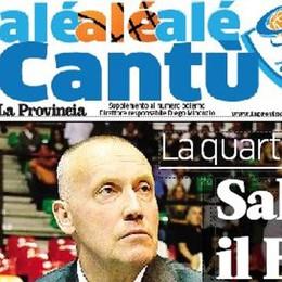 C'è Kurtinaitis su Alé Cantù Domani gratis al PalaDesio