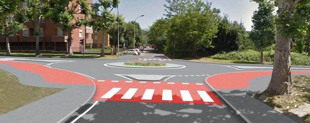 Varesina, tre nuove rotatorie  e addio ai semafori