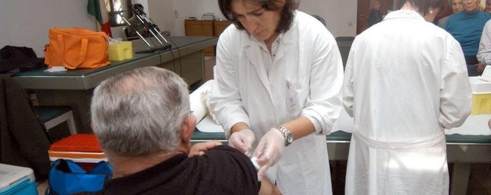 Influenza, 70mila vaccini  per over 65 e bambini