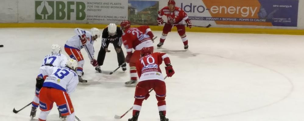 Hockey Como, un martedì per dimenticare le sconfitte