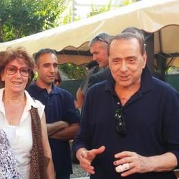 Berlusconi: «Ad Oltrona il giorno  più bello di tutta la mia vita»