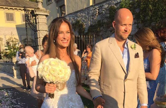 Daniel e Sofia Ek sposi sul lago di Como testimone di nozze Mark Zuckerberg con la moglie Priscilla nozze a villa Pliniana e a Il Serenoo facebook di Daniel Ek