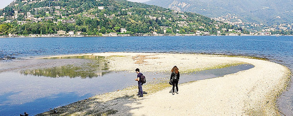 Como, lago troppo basso  Danni per milioni di euro