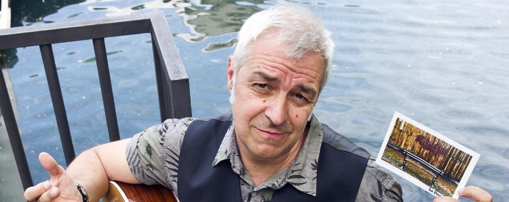 La canzone di Van de Sfroos  «Lungolago, ma il lago dov'è»   Guarda il video