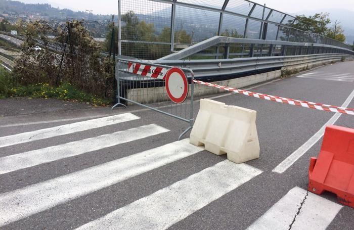 A Isella chiusura totale per il ponte