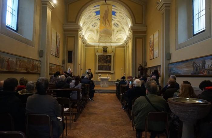 La chiesetta di San Francesco a Moiana