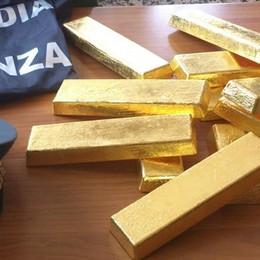 Riciclaggio di lingotti d'oro  Un giro da 4.900 chili