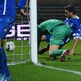 Como, un gol di Cortesi e si vola ai quarti di Coppa