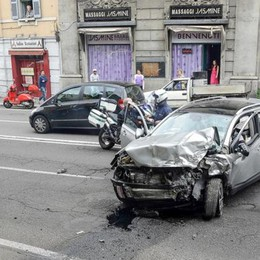 Como, meno incidenti stradali   Ma aumentano quelli mortali