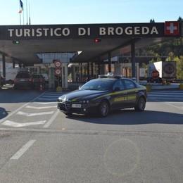 Dogana, fermato russo in Jaguar  Aveva 175.000 euro in contanti