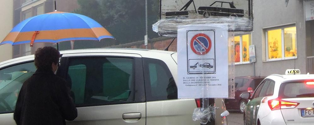Cantù, brutta sorpresa per i negozianti  Via Roma chiusa oggi pomeriggio