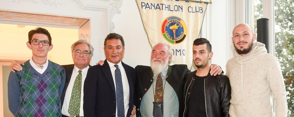 Premi Fair Play Panathlon Gentile scoppia in lacrime  GUARDA LE FOTO