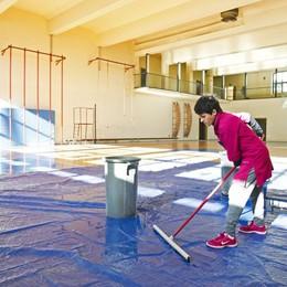 Como Nord, palestre a pezzi nelle scuole   Impossibile fare ginnastica quest'anno
