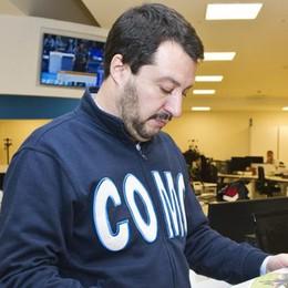 Salvini a La Provincia: «Sindaco di Como? Sul candidato l'idea c'è». VIDEO