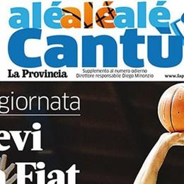 Il nuovo numero di Alé Cantù Oggi è gratis al PalaDesio