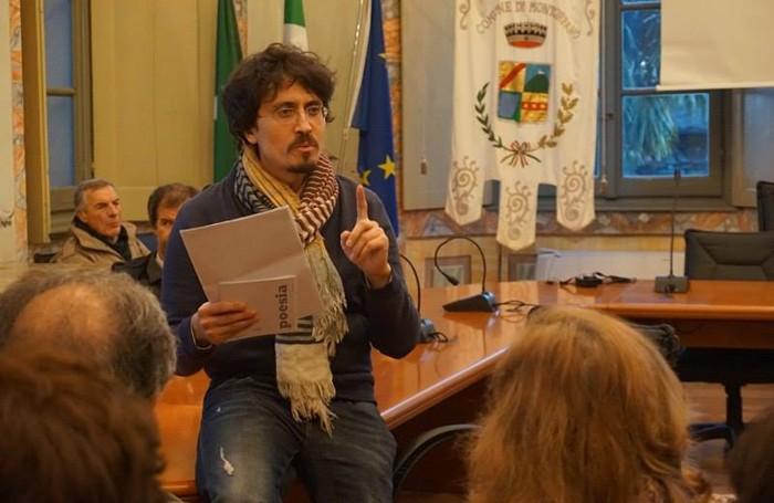 Pietro Berra durante il recital finale