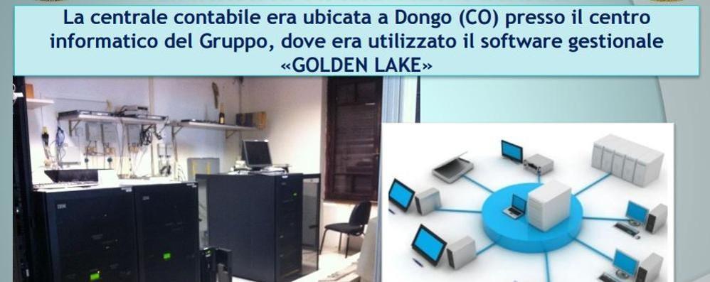 Evasione da 1,2 miliardi Il centro operativo era a Dongo