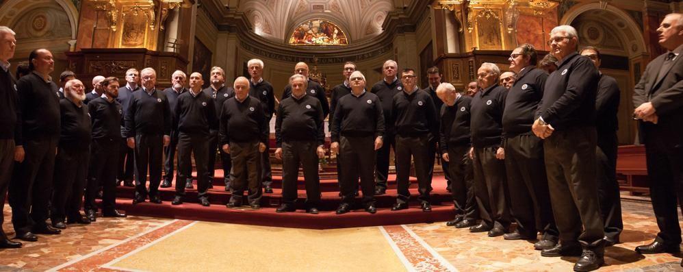L'abbraccio di Appiano al suo coro  In cinquecento al concerto