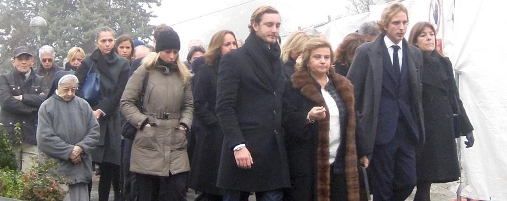 Carolina di Monaco  piange un altro Casiraghi