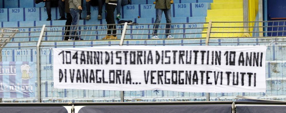 La Procura ha chiesto  il fallimento del Calcio Lecco