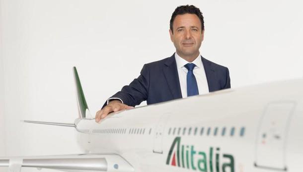 Alitalia,tagli organico per sopravvivere