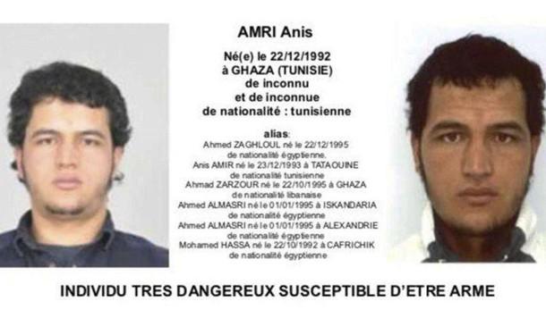 Amri, Dap segnalò comportamenti sospetti