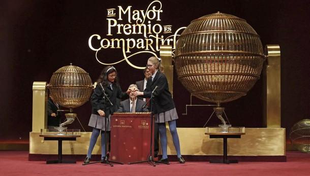 Lotteria el Gordo premia un rione Madrid