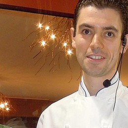 Bellagio, cade da tre metri   Paura per lo chef, soccorso in elicottero