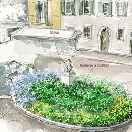 Piazza Mazzini rifatta dai commercianti  Nuovo verde e meno tavolini all'esterno