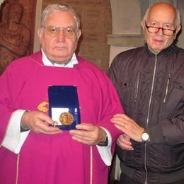 Reliquia in dono a Cabiate  Don Gnocchi sarà tra i beati