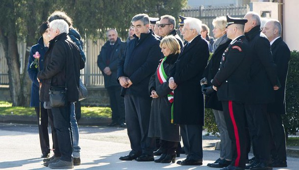 Mattarella domani a funerali di Fabrizia