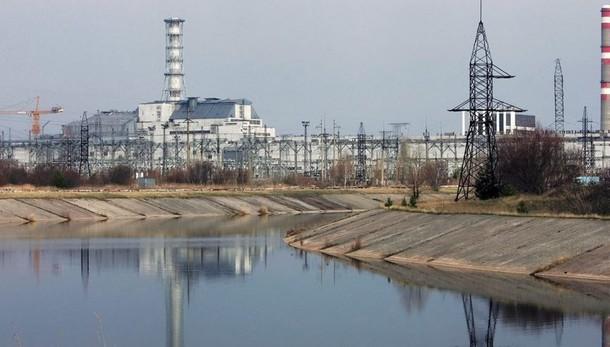 Pannelli solari intorno a Cernobyl