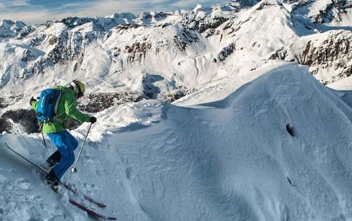 Luca e il free riding con gli sci  Passione diventata serie web