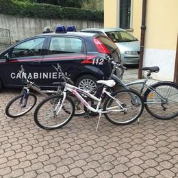Erba, bici rubate trovate in centro  Nel deposito abbandonato