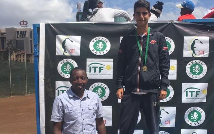 Come cresce bene Rottoli Vince un torneo a Nairobi