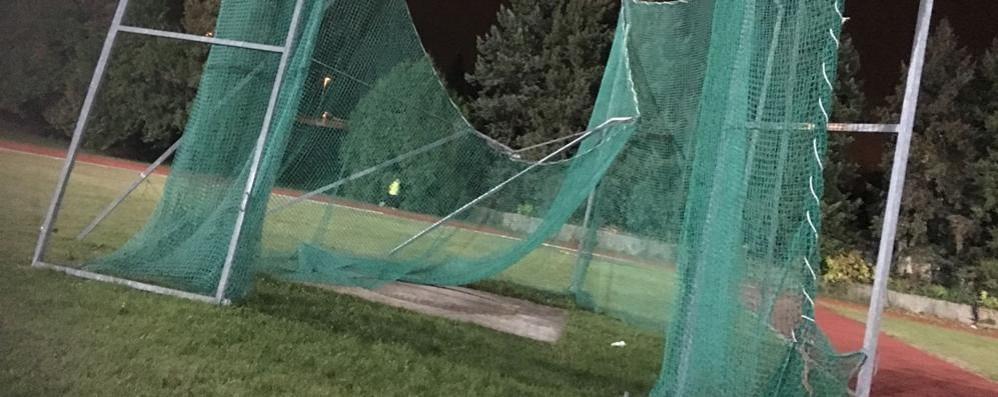 Campo Coni danneggiato da mesi «Rifaremo tutto con 600mila euro»